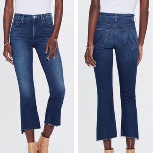 Mother The Insider Crop Jeans Royal Treatment Wash